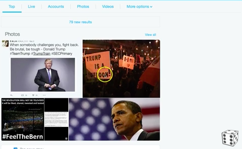 s Twitter Censoring Top Search Results To Hurt Donald Trump? Staged Chicago Anti-Trump Protestor Cover-Up?