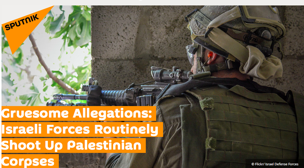 Gruesome Allegations: Israeli Forces Routinely Shoot...