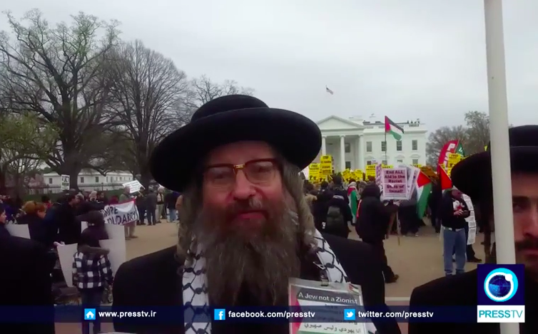 In the U-S, Orthodox Jewish and pro-Palestinian activists...