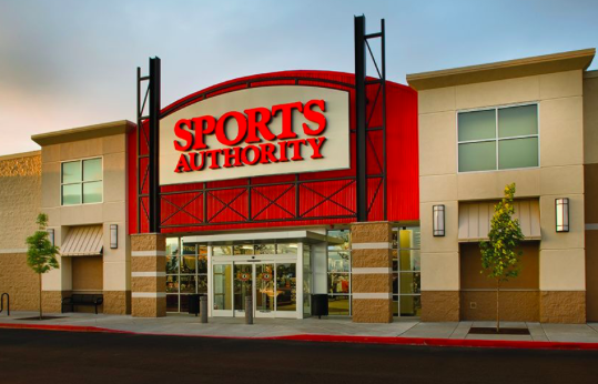 Sports Authority Is Throwing In The Towel And Closing...