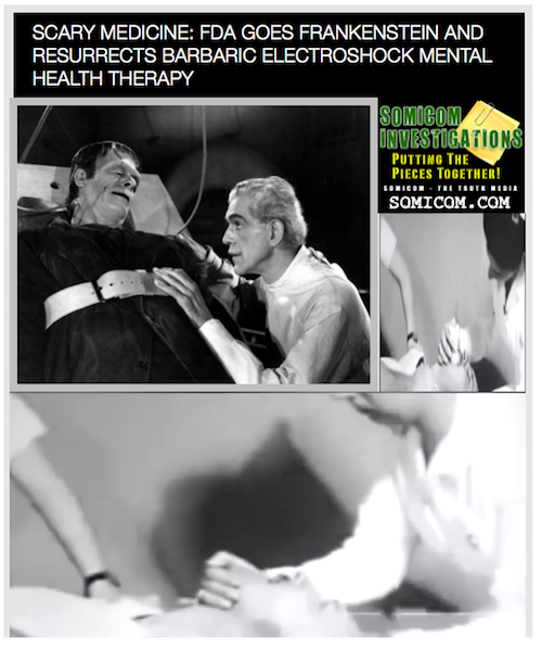 Scary Medicine: FDA Goes Frankenstein And Resurrects...