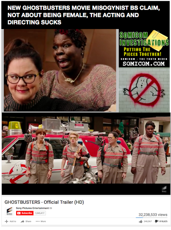GhostBusters - Bad Acting Trailer