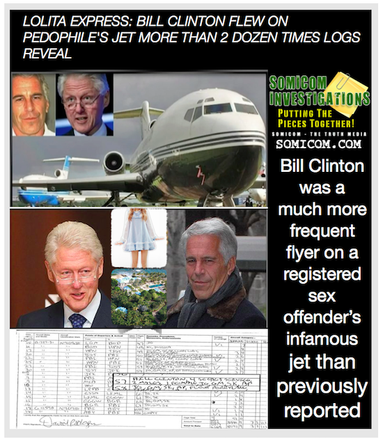 Lolita Express Bill Clinton