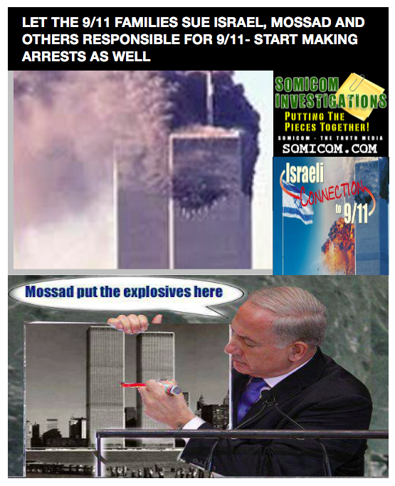 People Believe Israel Was Behind 9:11