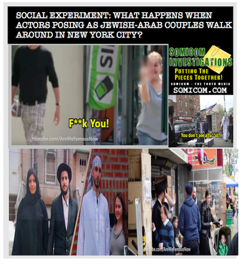 Social Experiment Jewish-Arab Couples