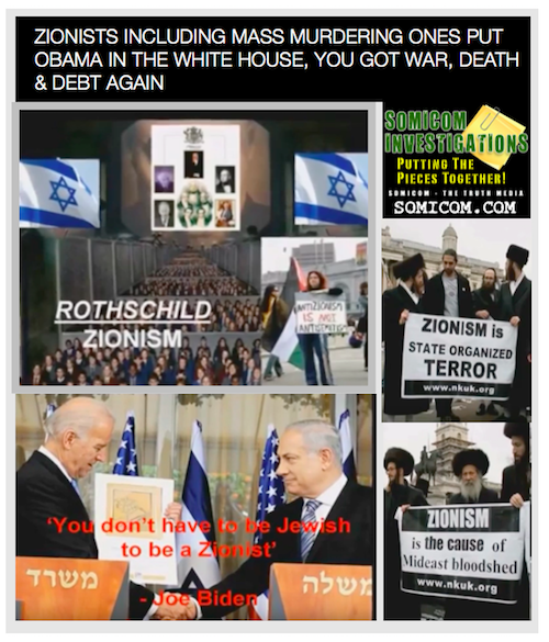 Zionists Behind Obama