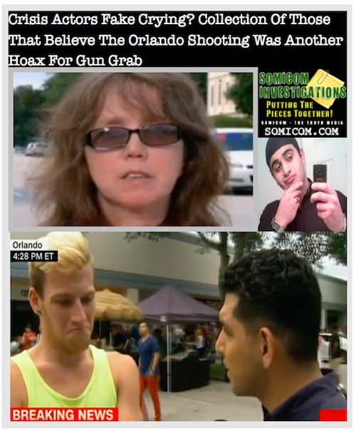 Crisis Actors Fake Crying