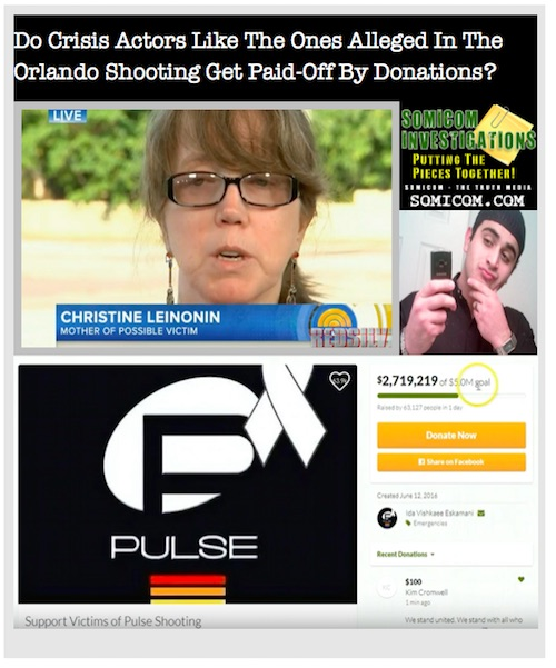 Crisis Actors-Orlando Shooting