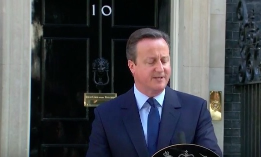 David Cameron Steps Down After Brexit