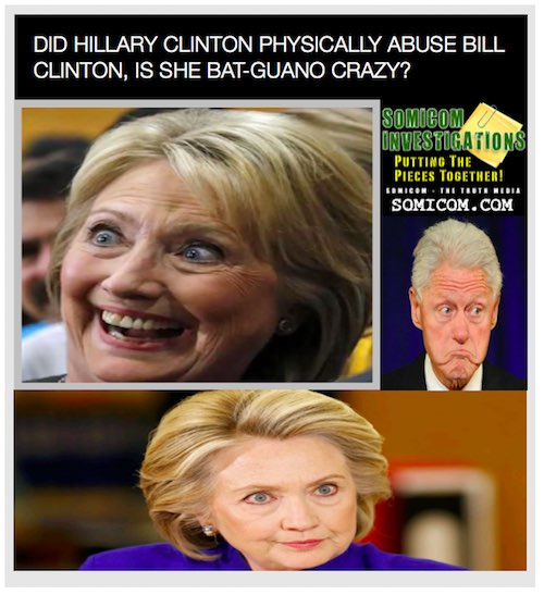 Did Hillary Clinton Physically Abuse Bill Clinton