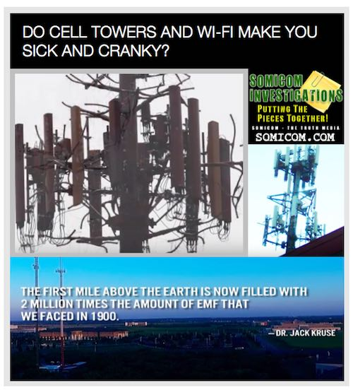 Do Cell Towers And WiFi Make You Sick