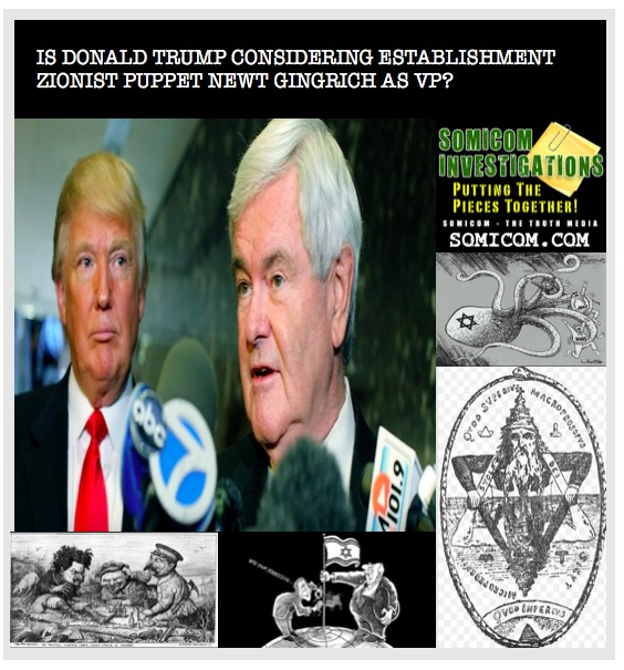 Donald Trump-Newt Gingrich