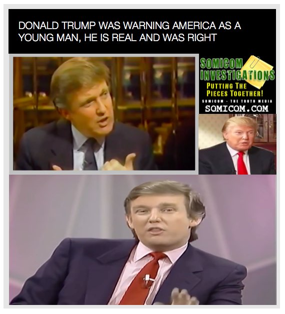 Donald Trump Was Warning America As A Young Man
