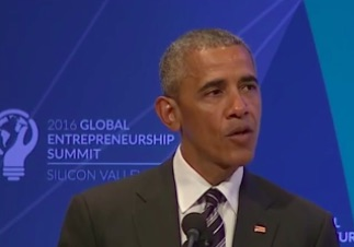 OBAMA ADVOCATES FOR MORE GLOBALISM