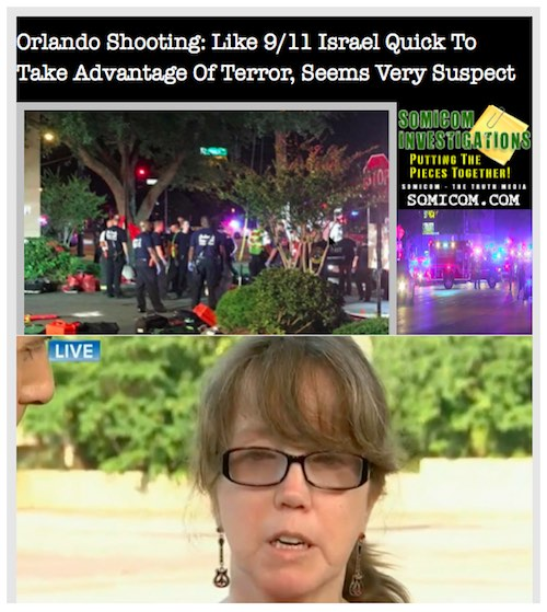 Orlando Shooting: Like 9:11 Israel Quick To Take Advantage Of Terror