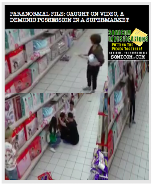 Paranormal File: Caught On Video, A Demonic Possession in A Supermarket