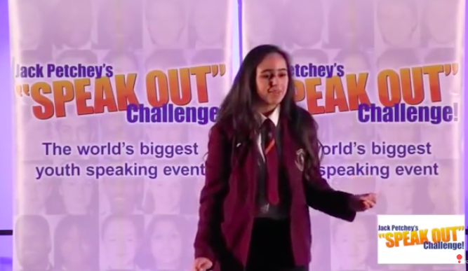 British-Palestinian schoolgirl expelled from public speaking competition