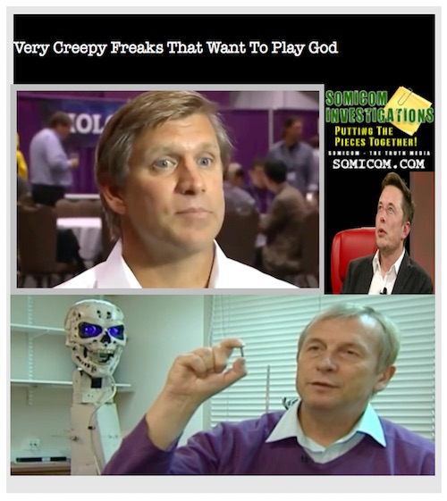 Very Creepy Freaks That Want To Play God