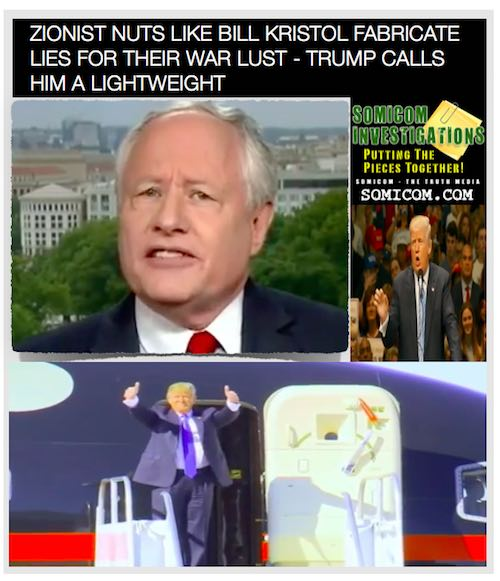 Zionist Nuts Like Bill Kristol2