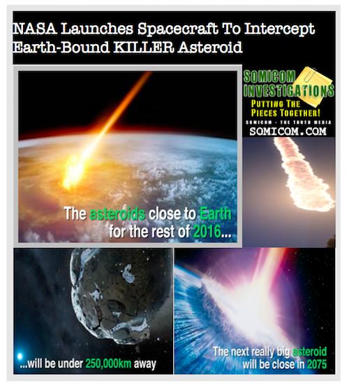 NASA Launches Spacecraft To Intercept Earth-Bound KILLER Asteroid