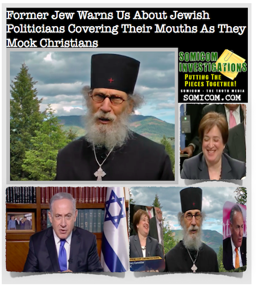 Former Jew Warns Us About Jewish Politicians Covering Their Mouths As They Mock Christians