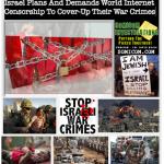 Israel Plans And Demands World Internet Censorship