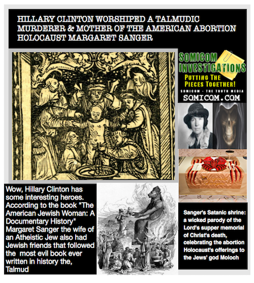 Mother of the American Abortion Holocaust Margaret Sanger2