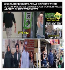 Social Experiment Jewish-Arab Couples