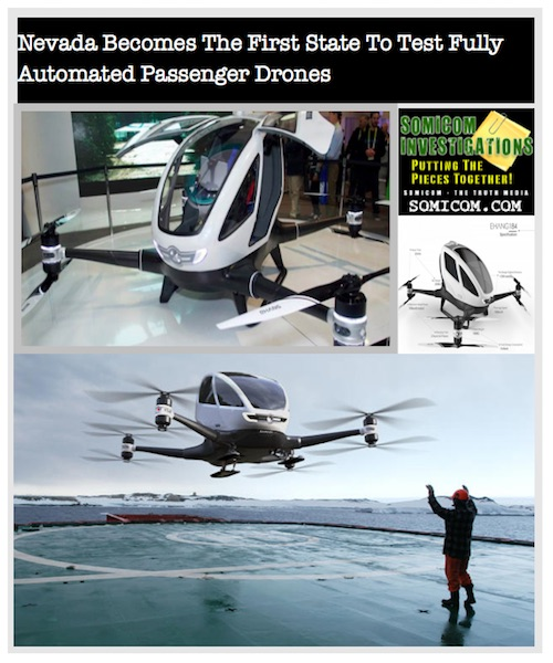 Fully Automated Passenger Drones