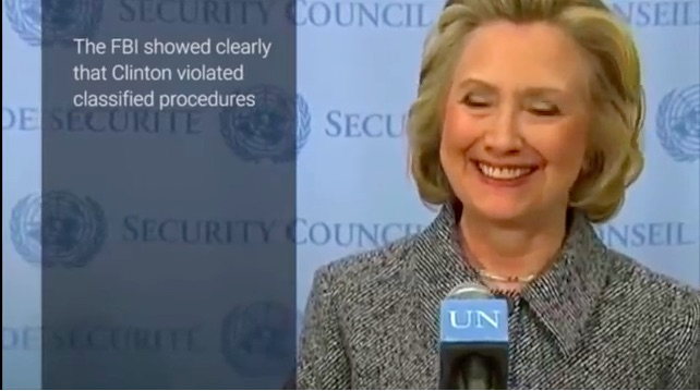 """Hold Hillary Accountable: Rand Paul Calls for """"Prison Sentence"""" for Hillary Clinton"""