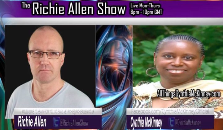 Former Democrat Cynthia McKinney Does Not Hold Back, Anyone But Clinton! Remember The Dancing Israelis On 9/11