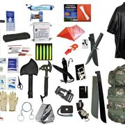 2-Person-Supply-3-Day-Emergency-Bug-Out-SOS-Food-Rations-Drinking-Water-LifeStraw-Personal-Filter-First-Aid-Kit-Tent-Blanket-Woodland-Backpack-Poncho-Essential-21-Piece-Survival-Gear-Set-0