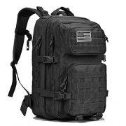 Military-Tactical-Backpack-Large-Army-3-Day-Assault-Pack-Waterproof-Molle-Bug-Out-Bag-Backpacks-Rucksacks-for-Outdoor-Hiking-Camping-Trekking-Hunting-Black-0